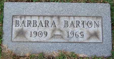BARTON, BARBARA - Stark County, Ohio | BARBARA BARTON - Ohio Gravestone Photos