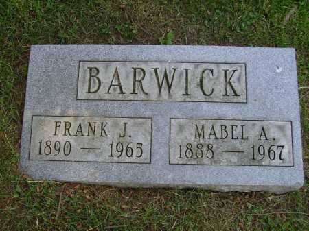 BARWICK, MABEL A. - Stark County, Ohio | MABEL A. BARWICK - Ohio Gravestone Photos