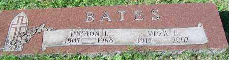 BATES, HUSTON L. - Stark County, Ohio | HUSTON L. BATES - Ohio Gravestone Photos