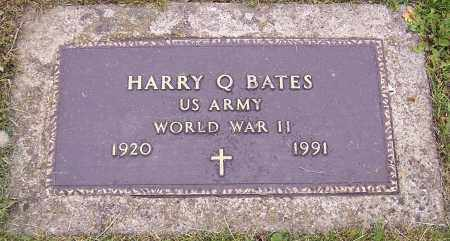 BATES, HARRY Q. - Stark County, Ohio | HARRY Q. BATES - Ohio Gravestone Photos