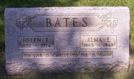 EDWARDS BATES, ALMA E - Stark County, Ohio | ALMA E EDWARDS BATES - Ohio Gravestone Photos