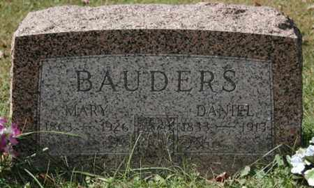 BAUDERS, DANIEL - Stark County, Ohio | DANIEL BAUDERS - Ohio Gravestone Photos