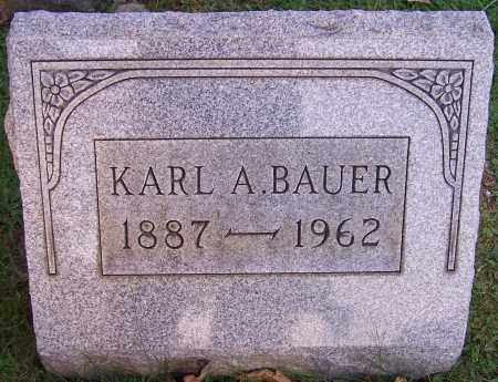 BAUER, KARL A. - Stark County, Ohio | KARL A. BAUER - Ohio Gravestone Photos