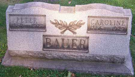 BAUER, PETER - Stark County, Ohio | PETER BAUER - Ohio Gravestone Photos