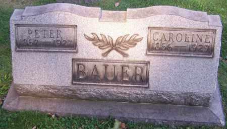 BAUER, CAROLINE - Stark County, Ohio | CAROLINE BAUER - Ohio Gravestone Photos