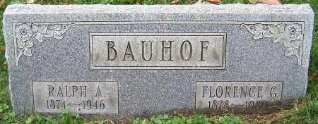 BAUHOF, RALPH A. - Stark County, Ohio | RALPH A. BAUHOF - Ohio Gravestone Photos