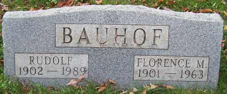 BAUHOF, RUDOLF - Stark County, Ohio | RUDOLF BAUHOF - Ohio Gravestone Photos