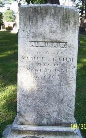 BAUM, ALMIRA W. - Stark County, Ohio | ALMIRA W. BAUM - Ohio Gravestone Photos