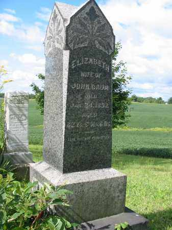 BAUM, ELIZABETH - Stark County, Ohio | ELIZABETH BAUM - Ohio Gravestone Photos