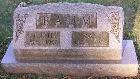 BAUM, J.CURTIS - Stark County, Ohio | J.CURTIS BAUM - Ohio Gravestone Photos
