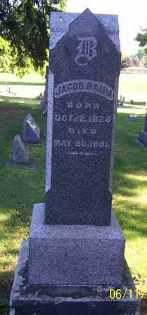 BAUM, JACOB - Stark County, Ohio | JACOB BAUM - Ohio Gravestone Photos