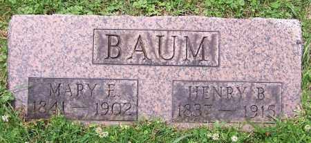 BAUM, HENRY B. - Stark County, Ohio | HENRY B. BAUM - Ohio Gravestone Photos