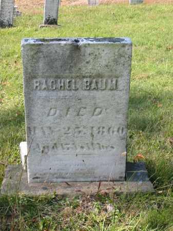 BAUM, RACHEL - Stark County, Ohio | RACHEL BAUM - Ohio Gravestone Photos