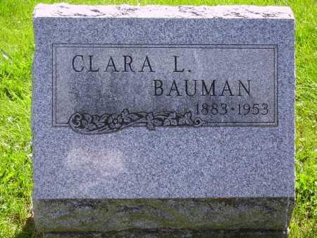 KROEGER  BAUMAN, CLARA L. - Stark County, Ohio | CLARA L. KROEGER  BAUMAN - Ohio Gravestone Photos