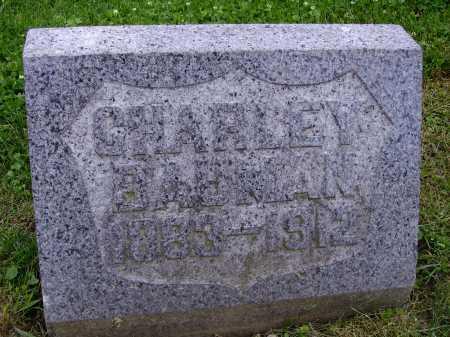 "BAUMAN, CHARLES ""CHARLEY"" - Stark County, Ohio | CHARLES ""CHARLEY"" BAUMAN - Ohio Gravestone Photos"