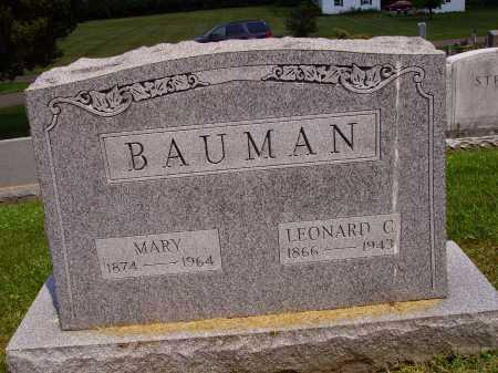 BAUMAN, MARY - Stark County, Ohio | MARY BAUMAN - Ohio Gravestone Photos