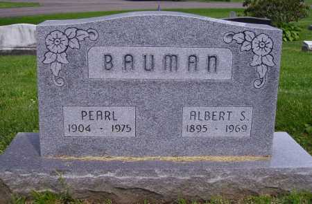BAUMAN, ALBERT S. - Stark County, Ohio | ALBERT S. BAUMAN - Ohio Gravestone Photos
