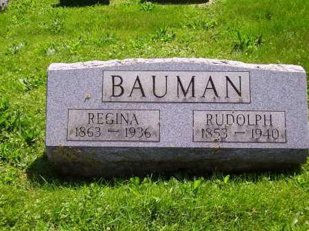 PFAFFLE BAUMAN, REGINA - Stark County, Ohio | REGINA PFAFFLE BAUMAN - Ohio Gravestone Photos
