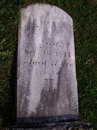BAUMANN, JOHN - Stark County, Ohio | JOHN BAUMANN - Ohio Gravestone Photos