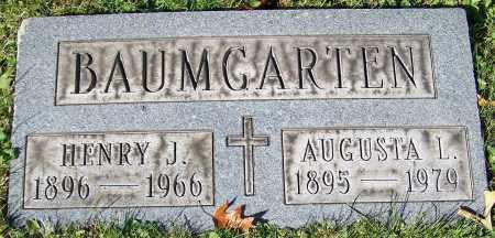 BAUMGARTEN, HENRY J. - Stark County, Ohio | HENRY J. BAUMGARTEN - Ohio Gravestone Photos