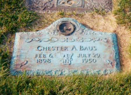 BAUS, CHESTER ALBERT - Stark County, Ohio | CHESTER ALBERT BAUS - Ohio Gravestone Photos