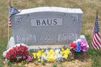 BAUS, GERALD A. - Stark County, Ohio | GERALD A. BAUS - Ohio Gravestone Photos