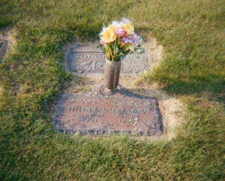 BAUS, HELEN LAURETTA - Stark County, Ohio | HELEN LAURETTA BAUS - Ohio Gravestone Photos
