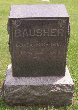 WOLF BAUSHER, LOUISA - Stark County, Ohio | LOUISA WOLF BAUSHER - Ohio Gravestone Photos