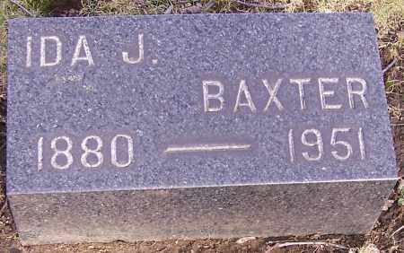 BAXTER, IDA J. - Stark County, Ohio | IDA J. BAXTER - Ohio Gravestone Photos