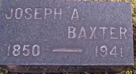 BAXTER, JOSEPH A. - Stark County, Ohio | JOSEPH A. BAXTER - Ohio Gravestone Photos
