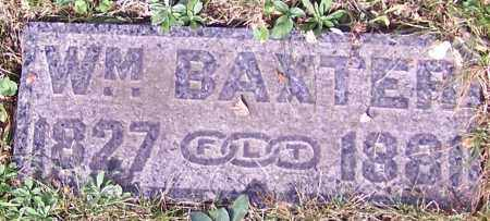 BAXTER, WM. - Stark County, Ohio | WM. BAXTER - Ohio Gravestone Photos
