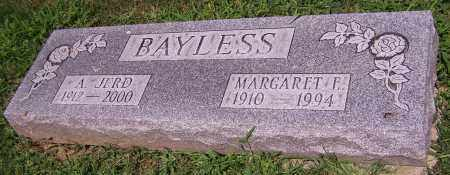 BAYLESS, A. JERD - Stark County, Ohio | A. JERD BAYLESS - Ohio Gravestone Photos