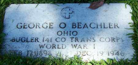 BEACHLER, GEORGE O. - Stark County, Ohio | GEORGE O. BEACHLER - Ohio Gravestone Photos