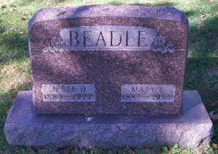 BEADLE, MARY L. - Stark County, Ohio | MARY L. BEADLE - Ohio Gravestone Photos