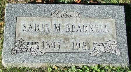BEADNELL, SADIE M. - Stark County, Ohio | SADIE M. BEADNELL - Ohio Gravestone Photos
