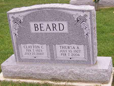 BEARD, CLAYTON C. - Stark County, Ohio | CLAYTON C. BEARD - Ohio Gravestone Photos