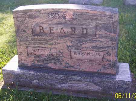 BEARD, B.FRANKLIN - Stark County, Ohio | B.FRANKLIN BEARD - Ohio Gravestone Photos