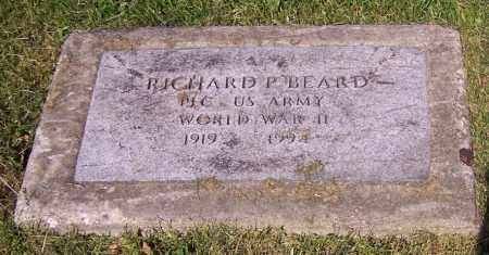 BEARD, RICHARD P. - Stark County, Ohio | RICHARD P. BEARD - Ohio Gravestone Photos