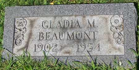 BEAUMONT, GLADIA M. - Stark County, Ohio | GLADIA M. BEAUMONT - Ohio Gravestone Photos