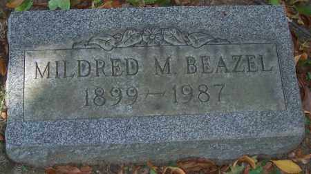 BEAZEL, MILDRED M. - Stark County, Ohio | MILDRED M. BEAZEL - Ohio Gravestone Photos