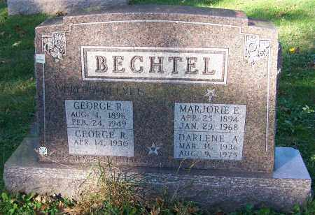 BECHTEL, GEORGE R. - Stark County, Ohio | GEORGE R. BECHTEL - Ohio Gravestone Photos