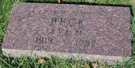 BECK, EVA M. - Stark County, Ohio | EVA M. BECK - Ohio Gravestone Photos