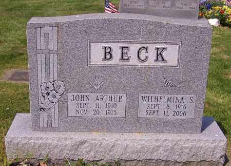 BECK, WILHELMINA S. - Stark County, Ohio | WILHELMINA S. BECK - Ohio Gravestone Photos