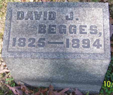 BEGGES, DAVID J. - Stark County, Ohio | DAVID J. BEGGES - Ohio Gravestone Photos