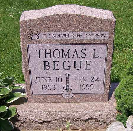 BEGUE, THOMAS L. - Stark County, Ohio | THOMAS L. BEGUE - Ohio Gravestone Photos