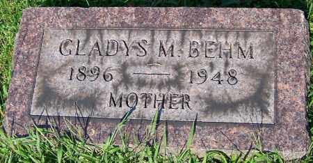 BEHM, GLADYS M. - Stark County, Ohio | GLADYS M. BEHM - Ohio Gravestone Photos
