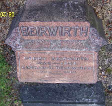 BEIRWIRTH, HENRY - Stark County, Ohio | HENRY BEIRWIRTH - Ohio Gravestone Photos