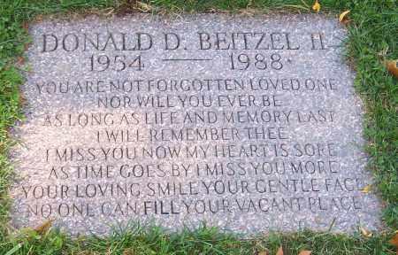 BEITZEL, DONALD D. (II) - Stark County, Ohio | DONALD D. (II) BEITZEL - Ohio Gravestone Photos