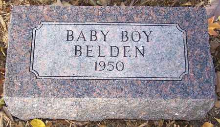 BELDEN, BABY BOY - Stark County, Ohio | BABY BOY BELDEN - Ohio Gravestone Photos