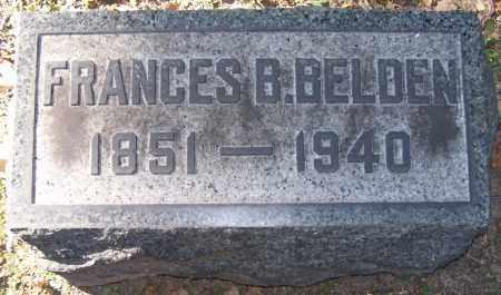 BELDEN, FRANCES B. - Stark County, Ohio | FRANCES B. BELDEN - Ohio Gravestone Photos